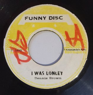 DENNIS BROWN - I WAS LONELY<img class='new_mark_img2' src='//img.shop-pro.jp/img/new/icons25.gif' style='border:none;display:inline;margin:0px;padding:0px;width:auto;' />