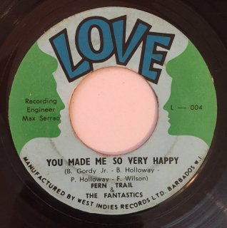 FERN TEAR & FANTASTICS - YOU MADE ME SO VERY HAPPY
