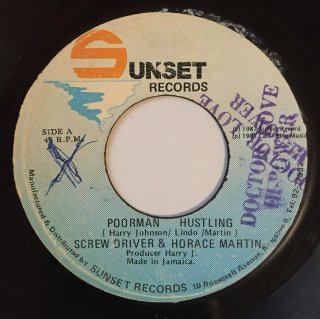 SCREW DRIVER & HORACE MARTIN - POORMAN HUSTLING<img class='new_mark_img2' src='//img.shop-pro.jp/img/new/icons25.gif' style='border:none;display:inline;margin:0px;padding:0px;width:auto;' />