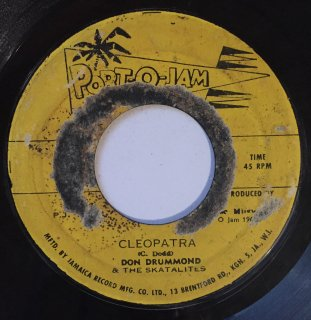 DON DRUMMOND - CLEOPATRA<img class='new_mark_img2' src='//img.shop-pro.jp/img/new/icons16.gif' style='border:none;display:inline;margin:0px;padding:0px;width:auto;' />