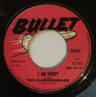 CLARENDONIANS - I AM SORRY<img class='new_mark_img2' src='//img.shop-pro.jp/img/new/icons25.gif' style='border:none;display:inline;margin:0px;padding:0px;width:auto;' />