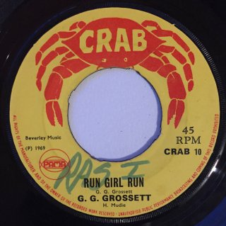 GG GROSSETT - RUN GIRL RUN<img class='new_mark_img2' src='//img.shop-pro.jp/img/new/icons25.gif' style='border:none;display:inline;margin:0px;padding:0px;width:auto;' />