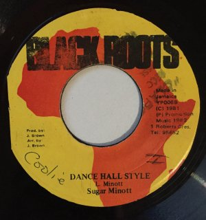 SUGAR MINOTT - DANCE HALL STYLE