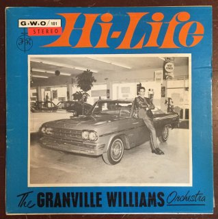 GRANVILLE WILLIAMS - HI LIFE<img class='new_mark_img2' src='//img.shop-pro.jp/img/new/icons25.gif' style='border:none;display:inline;margin:0px;padding:0px;width:auto;' />