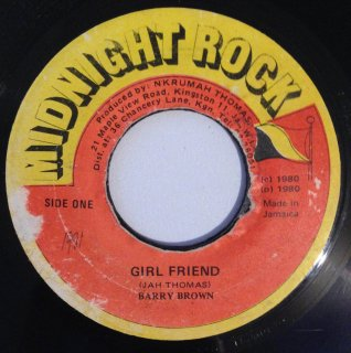 BARRY BROWN - GIRL FRIEND