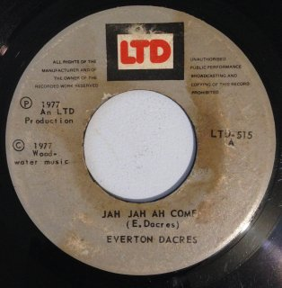 EVERTON DACRES - JAH JAH AH COME