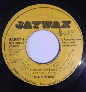 AJ BROWN - HUMAN NATURE