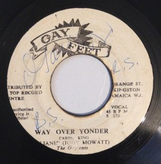 JUDY MOWATT - WAY OVER YONDER