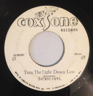 JACKIE OPEL - TURN THE LIGHT DOWN LOW