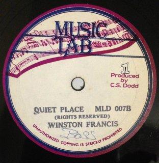 WINSTON FRANCIS - QUIET PLACE
