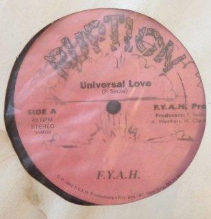 F.Y.A.H. - UNIVERSAL LOVE