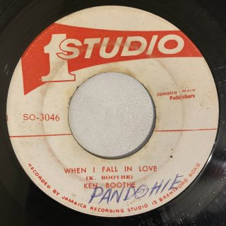 KEN BOOTHE - WHEN I FALL IN LOVE