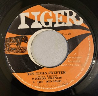 WINSTON FRANCIS (TONY GORDON) - TEN TIMES SWEETER