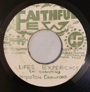 HOPETON CRAWFORD - LIFES EXPERIENCE