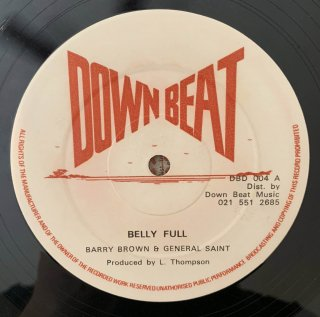 BARRY BROWN & GENERAL SAINT - BELLY FULL
