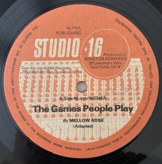 MELLOW ROSE - THE GAMES PEOPLE PLAY