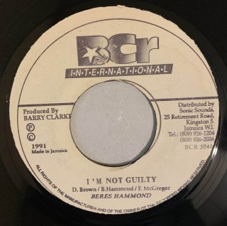BERES HAMMOND - I'M NOT GUILTY
