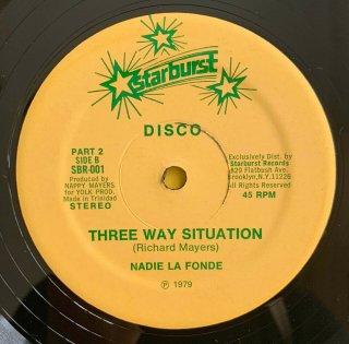 NADIE LA FONDE - THREE WAY SITUATION
