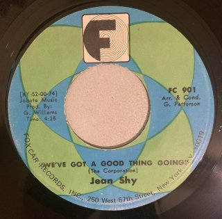 JEAN SHY - WE'VE GOT A GOOD THING GOING