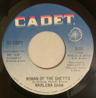 MARLENA SHAW - WOMAN OF THE GHETTO