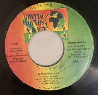 JR GONG & CAPLETON & STEPHEN MARLEY - IT WAS WRITTEN