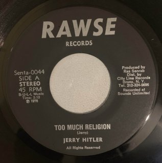 JERRY HITLER - TOO MUCH RELIGION