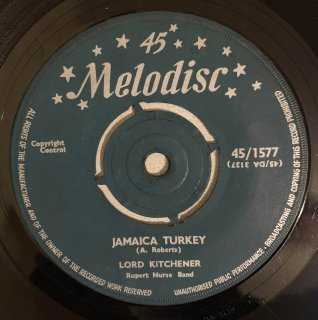 LORD KITCHENER - JAMAICA TURKEY