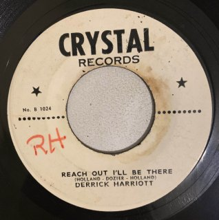 DERRICK HARRIOTT - REACH OUT I'LL BE THERE