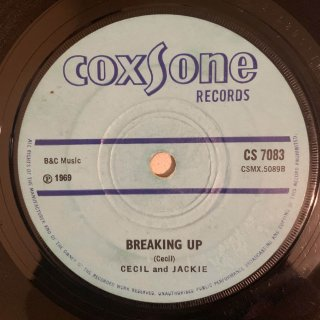 CECIL AND JACKIE - BREAKING UP