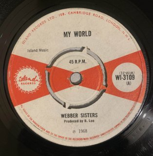 WEBBER SISTERS - MY WORLD