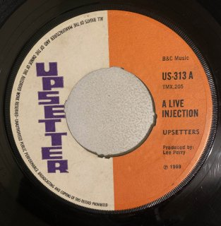 UPSETTERS - A LIVE INJECTION