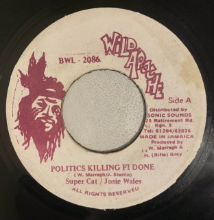 SUPER CAT & JOSIE WALES - POLITICS KILLING FI DONE