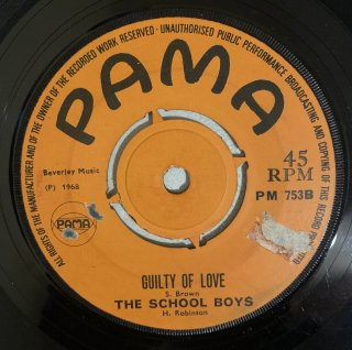 THE SCHOOL BOYS - GUILTY OF LOVE