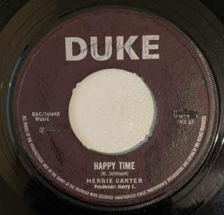 HERBIE CARTER - HAPPY TIME