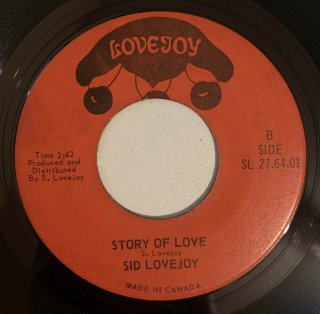 SID LOVEJOY - STORY OF LOVE