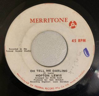 HOPTON LEWIS - OH TELL ME DARLING