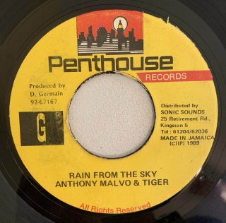 ANTHONY MALVO & TIGER - RAIN FROM THE SKY