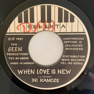 INI KAMOZE - WHEN LOVE IS NEW