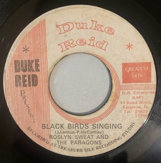 ROSLYN SWEAT & PARAGONS - BLACK BIRDS SINGING