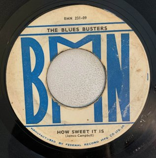 BLUES BUSTERS - HOW SWEET IT IS