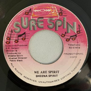 SHEENA SPIRIT - WE ARE SPIRIT