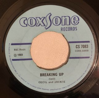 CECIL & JACKIE - BREAKING UP