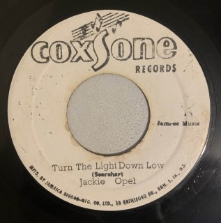 JACKIE OPEL - TURN YOUR LAMP DOWN LOW