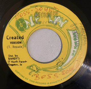 ERROL DUNKLEY - CREATED BY THE FATHER