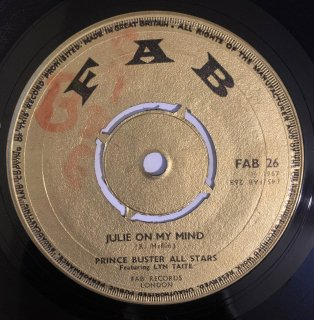 PRINCE BUSTER ALL STARS - JULIE ON MY MIND