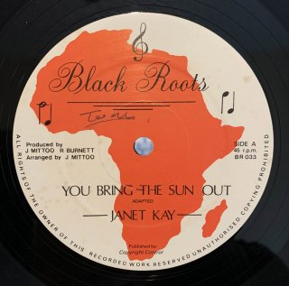 JANET KAY - YOU BRING THE SUN OUT