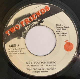 TIGER & CHEVELLE FRANKLIN - WEY YOU SCHEMING