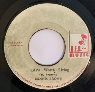 DENNIS BROWN - LIFE WORTH LIVING