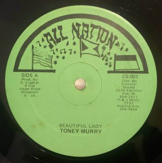 TONEY MURRY - BEAUTIFUL LADY