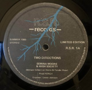 SEMINA MOORE & HIGH SOCIETY - TWO DIRECTIONS